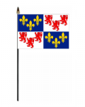 Picardy Hand Flag - Small.